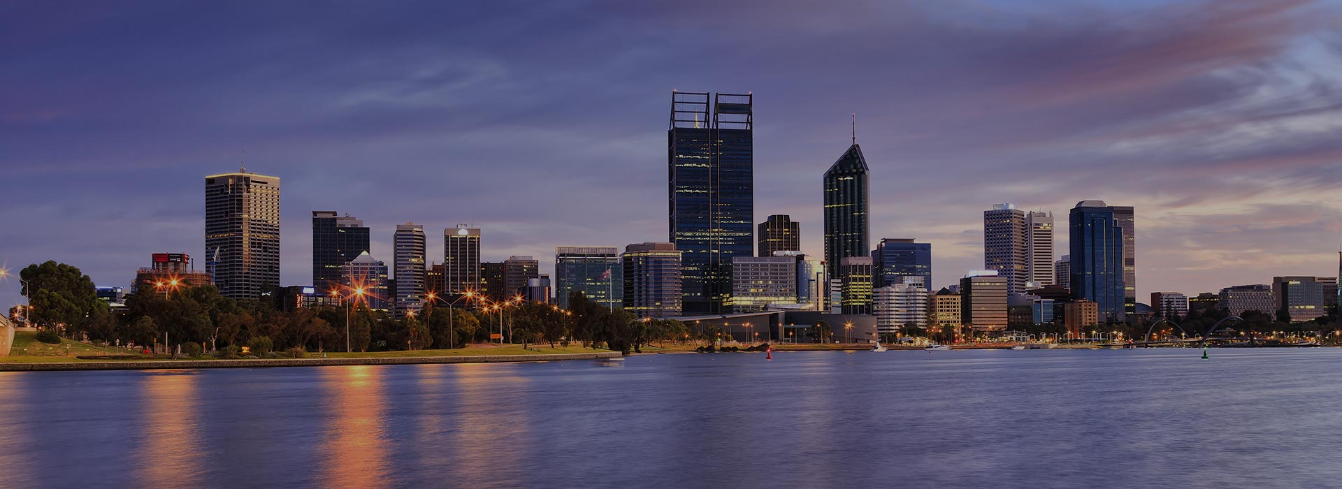 Perth city overview